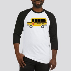 School Bus Baseball Jersey